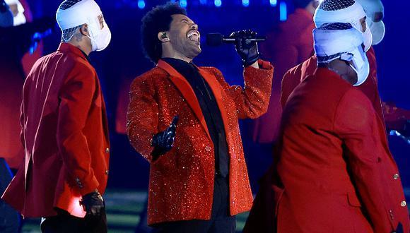 Super Bowl LV: así fue el espectáculo de medio tiempo con The Weeknd (Foto: Getty Images)