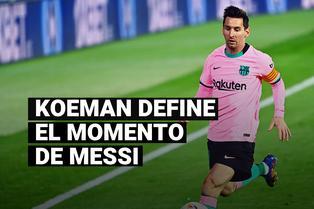 Koeman confía en Messi de cara al debut de Barcelona por Champions League
