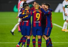 Barcelona vs. Elche: repasa las incidencias del duelo por LaLiga