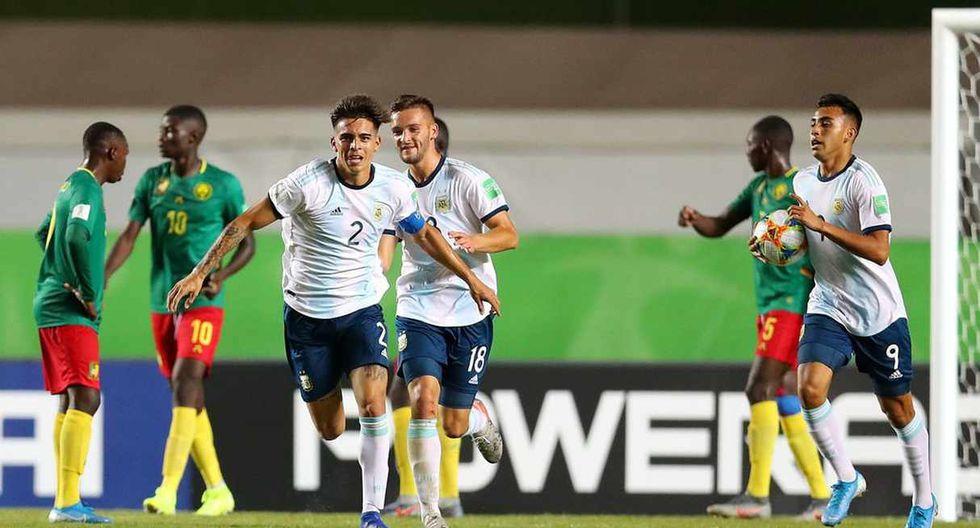 Argentina vs. Tayikistán se enfrentan en el Mundial Sub 17. (Foto: @Argentina)