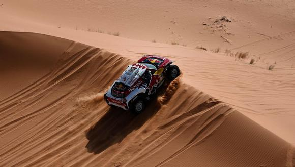 Stéphane Peterhansel viene de ganar la Etapa 4 del Dakar 2020. (AFP)