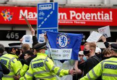 Radical protesta de los hinchas de Chelsea surtió efecto: se retiran de la Superliga [VIDEO]