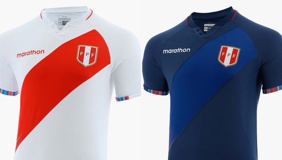 Perú presentó su nueva indumentaria para la Copa América 2021.