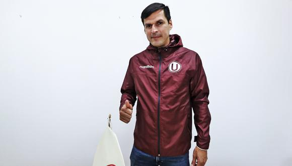 Jorge Araujo es el nuevo Coordinador de la Jefatura de Menores de la 'U'. (Foto: prensa 'U')