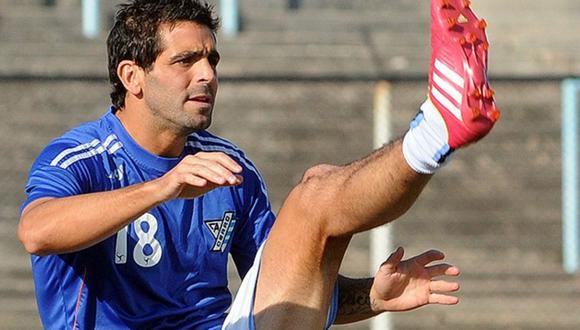 Martínez, de 38 años, estaba disputando el torneo Apertura de la Segunda División con el Villa Teresa.