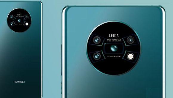 Render del Huawei Mate 30 Pro