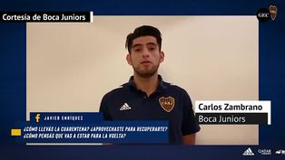 Carlos Zambrano contó los motivos que hicieron que firme por Boca Juniors