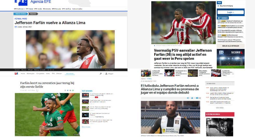 La reacción del mundo por el fichaje de Farfán en Alianza Lima (Captura)