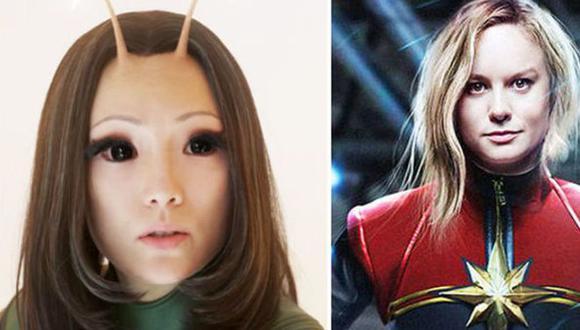 ¿Mantis y Capitana Marvel juntos? (Marvel)