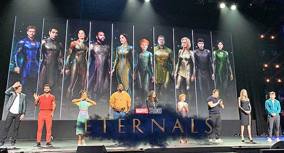 Marvel: 'The Eternals' muestra los atuendos de los protagonistas en un nuevo póster.
