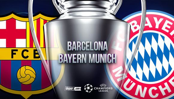Champions League: Barcelona vs Bayern Munich EN VIVO: fecha ...