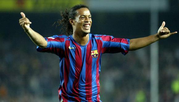 Ronaldinho llegó al Barcelona en el 2003 y permaneció en el Camp Nou hasta el curso 2007-08.  (Getty)