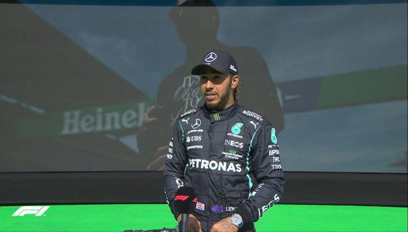 Lewis Hamilton ha alcanzado su victoria 97 en la Fórmula 1. (Foto: F1)
