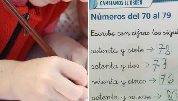 Las originales respuestas de una niña en un ejercicio matemático generaron debate en Internet. (Foto: klimkin en Pixabay y @Javi_matron en Twitter)
