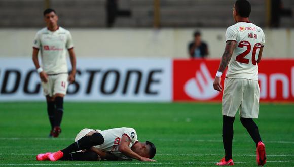 Dos Santos se lesionó en prácticas de Universitario. (Foto: GEC)