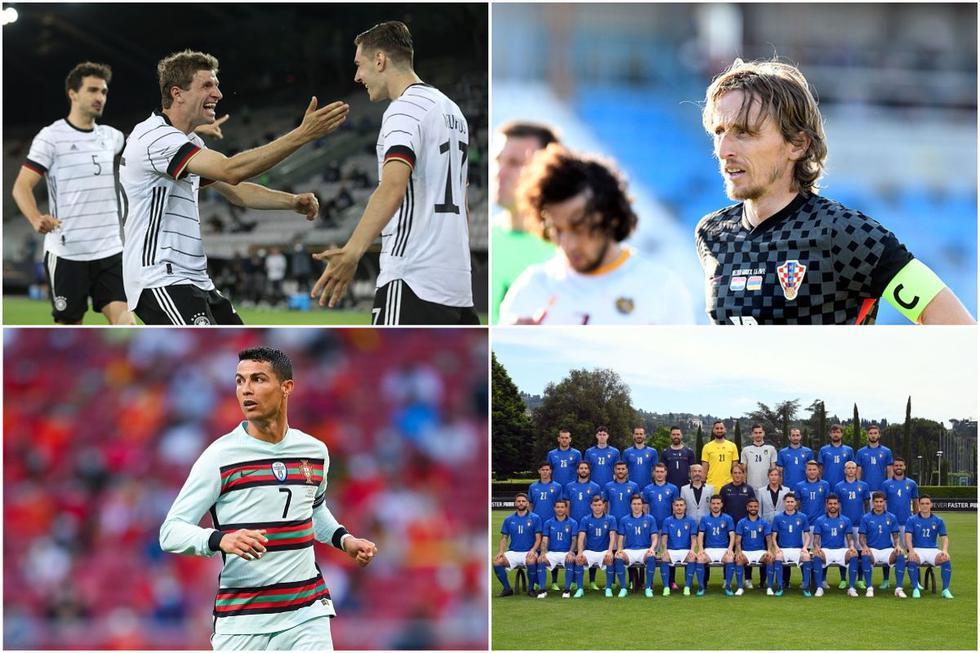 Las selecciones más valiosas de las Euro 2020. (Getty)