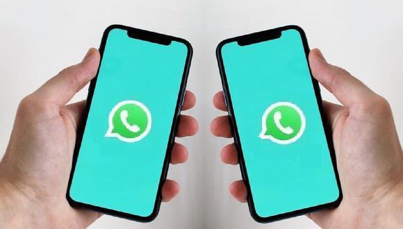 Conoce cómo abrir tu misma cuenta de WhatsApp en dos celulares con la función multidispositivos. (Foto: Depor)