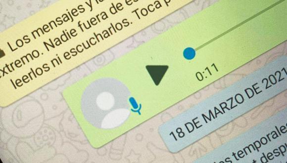 Conoce el truco para poder saber dónde se almacenan todos los audios que recibes en WhatsApp. (Foto: Depor)