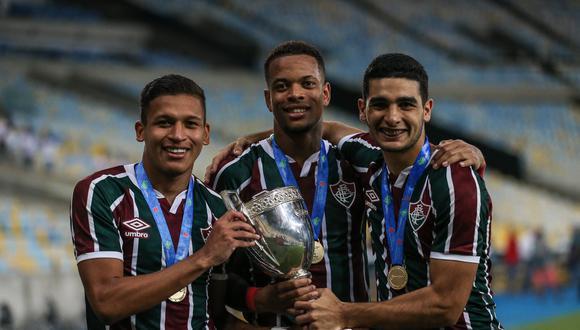 Fernando Pacheco se coronó campeón del Taça Rio. (Foto: Twitter)