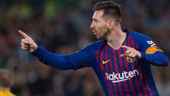 Lionel Messi acaba contrato en junio de este año con el FC Barcelona. (Foto: AFP)