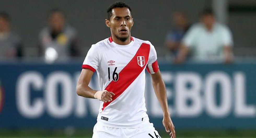 Carlos Lobatón volverá a vestir la camiseta de la Selección Peruana en esta fecha doble ante Argentina y Chile (USI)