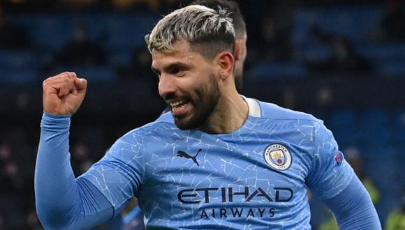 Sergio Agüero dejará Manchester City tras 10 años en el club. (Foto: AFP)