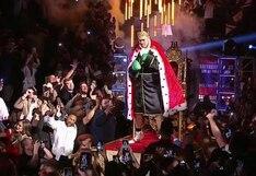 ¡Como un rey! Así fue la espectacular salida de Tyson Fury al ring para su pelea contra Deontay Wilder en Las Vegas [VIDEO]