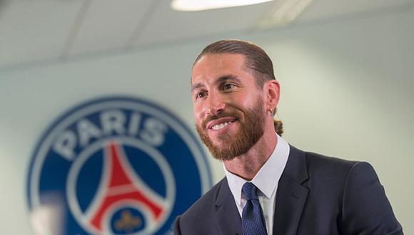 Sergio Ramos firmó dos años de contrato con el PSG. (Getty)