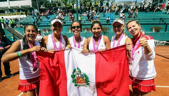 Laura Arraya será la capitana del equipo nacional conformado por Romina Ccuno (982° WTA), Dana Guzmán, Camila Soares, Daianne Hayashida y Anastasia Iamachkine. (Foto: IPD)