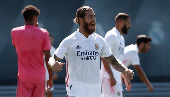 Sergio Ramos acompañará a la plantilla de Real Madrid a Inglaterra. (Foto: Real Madrid)