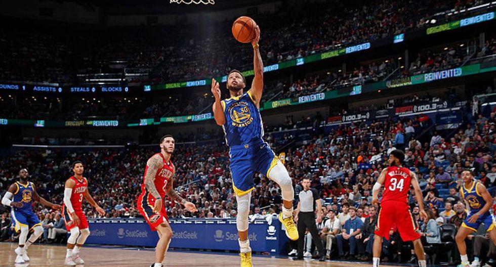 Stephen Curry fue determinante en el triunfo de su equipo. (Foto: Getty Images)