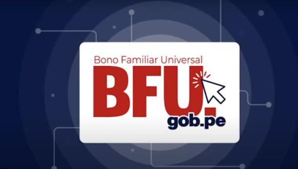 El Bono Familiar Universal se entregó a las familias en situación de pobreza del país, golpeadas por el COVID-19 (Foto: BFU)