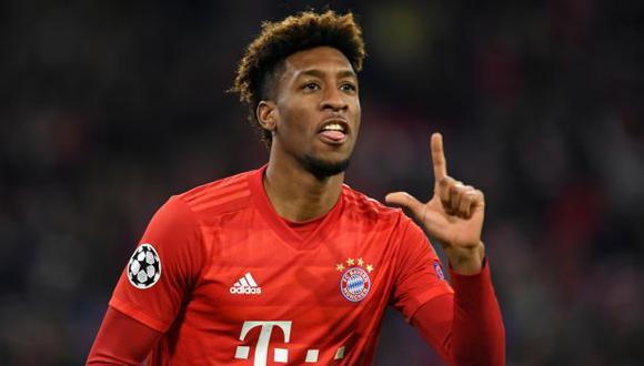 Kingsley Coman es jugador de Bayern Múnich desde la temporada 2015-16. (Foto: AFP)