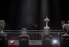 """""""Mantén distancia"""": trofeos de la Champions y Libertadores se unen para luchar contra el COVID-19 [FOTO]"""