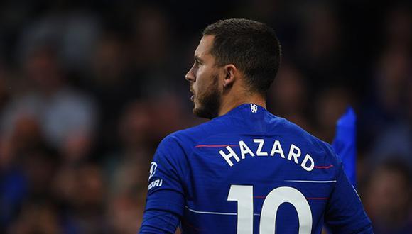 Eden Hazard llegó al Chelsea en la temporada 2012/13. (Getty)