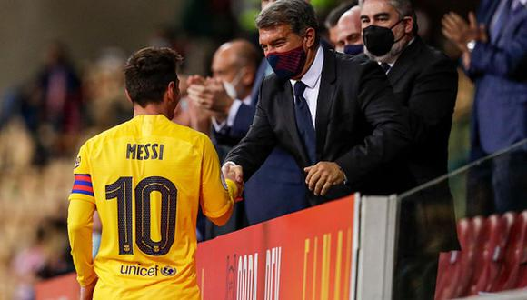 Joan Laporta vive su segunda etapa como dirigente del Barcelona. (Getty)