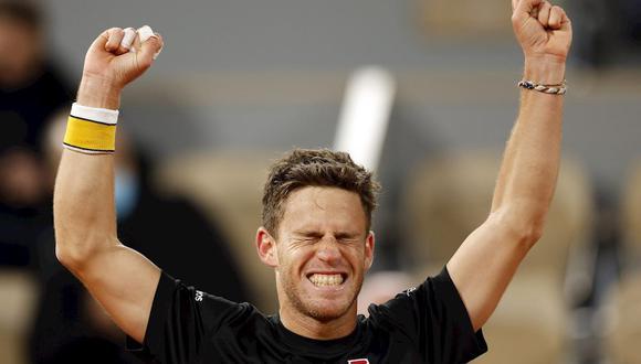 Schwartzman será parte del top 10 del ránking ATP el próximo mes. (Foto: EFE)