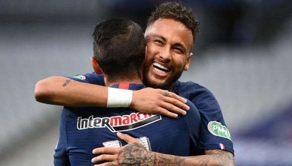 Neymar acaba contrato con el PSG en el 2022. (Foto: AFP)