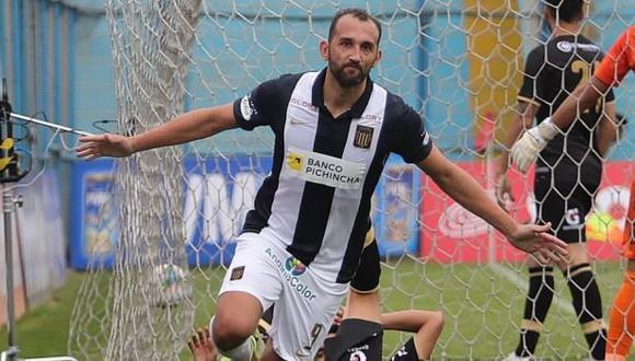 Hernán Barcos habló de la posibilidad de que se quede en Alianza Lima. (Foto: Alianza Lima)