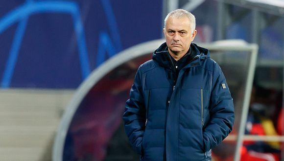 José Mourinho llegó a Tottenham en el 2019. (Foto: AFP)