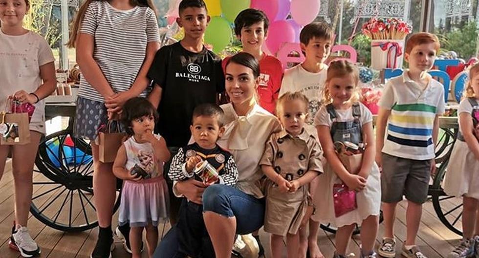 Georgina Rodríguez: los hijos de CR7 reciben el mejor regalo de parte de los Morata (Foto: Instagram)