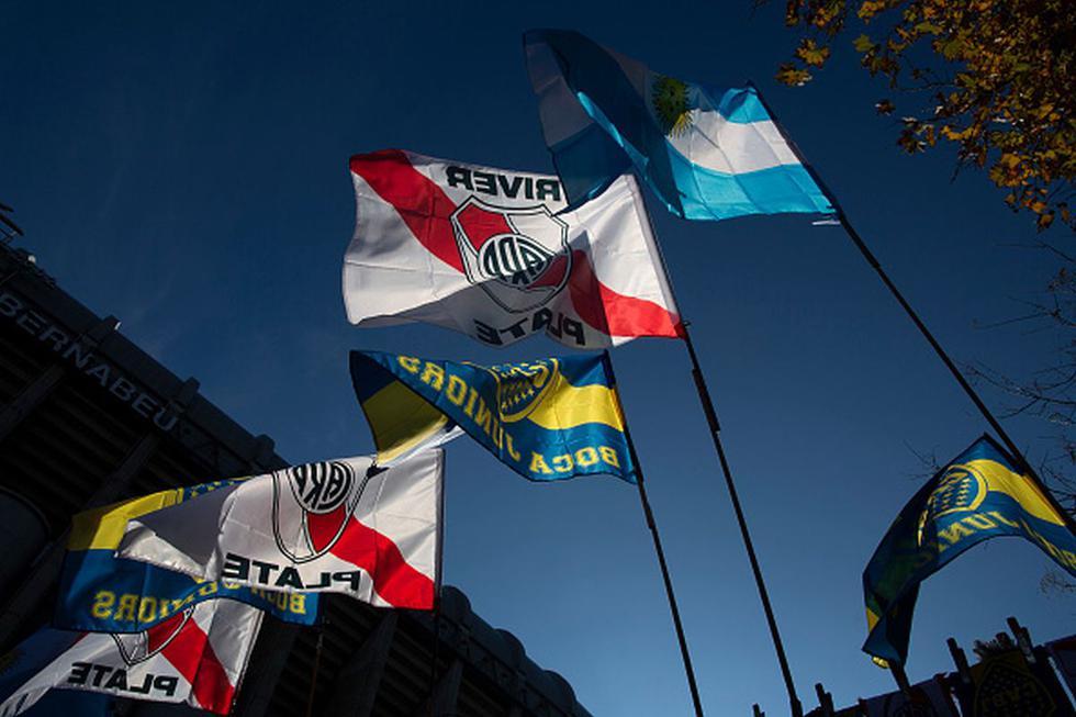 Las posibles alineaciones de Boca y River para el Superclásico de Argentina. (Getty)