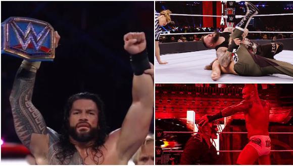 Los ganadores de la Noche 2 de WrestleMania 37 desde Florida. (WWE)