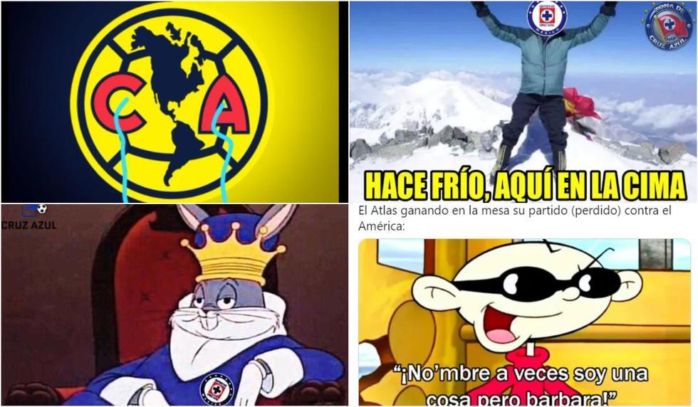 Los mejores memes de la sanción al América y el liderato de Cruz Azul en la Liga MX 2021 (Foto: Facebook)
