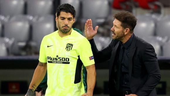 Diego Simeone le echó flores a Luis Suárez previo al Barcelona-Atlético de Madrid. (Foto: Getty Images)