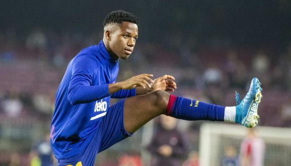 Ansu Fati se pierde definitivamente la temporada con Barcelona. (Foto: Getty Images)
