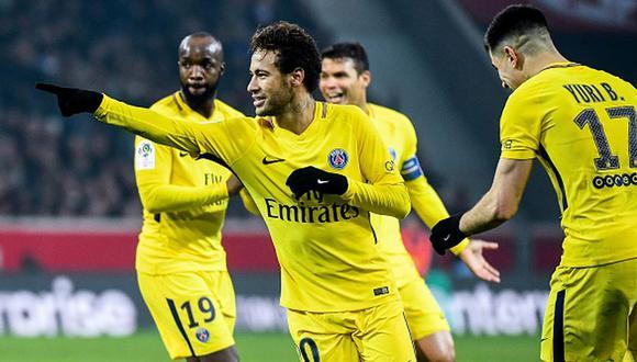 Neymar llegó a PSG desde Barcelona por 222 millones de euros. (Getty)
