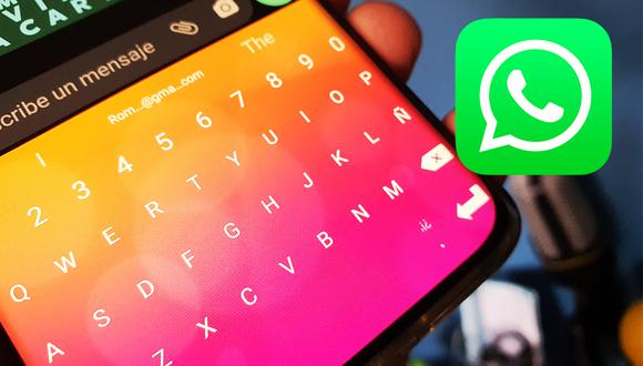 Conoce la manera de poder cambiar el teclado de WhatsApp ahora mismo. (Foto: Depor)