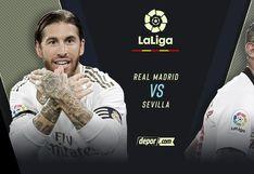Real Madrid vs. Sevilla: partidazo hoy en el Bernabéu por fecha 20 de LaLiga Santander 2020