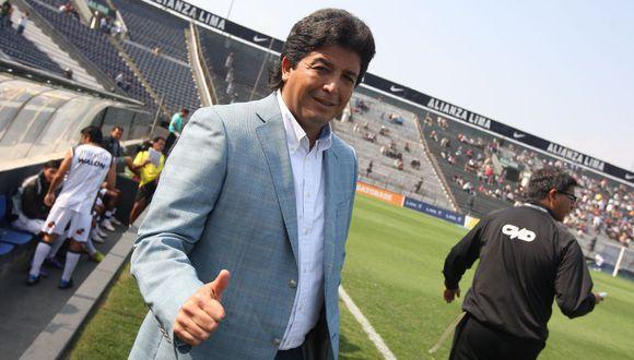 Víctor Rivera fue elogiado por Ricardo Gareca y afirmó que es uno de los mejores técnicos nacionales. (Foto: GEC)